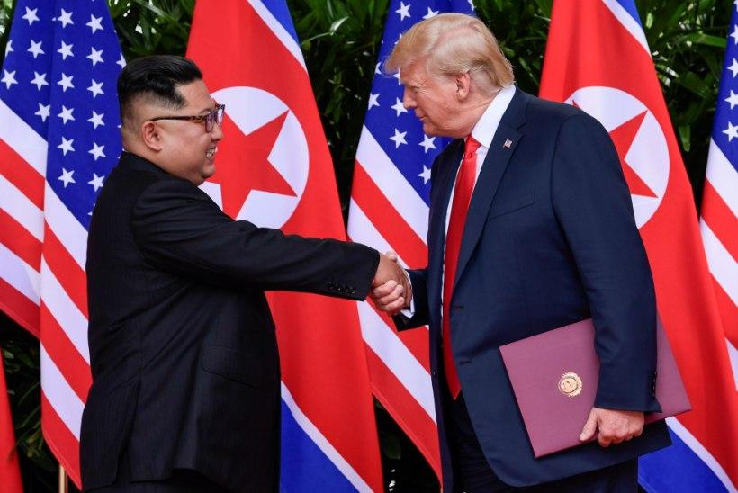 PÕHJA-KOREA LAHVATAS TAAS: USA seab ohtu kõik tuumasõja vastased aktsioonid