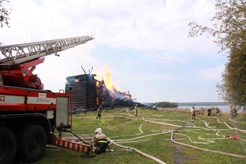 Venemaa Karjalas põles maha 1774. aastal ehitatud kirik