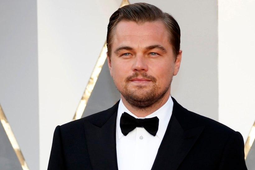 Leonardo DiCaprio nooruke pruut välgutab VÄGA lopsakat büsti