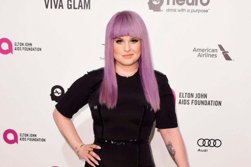Kelly Osbourne on aasta otsa kaine olnud