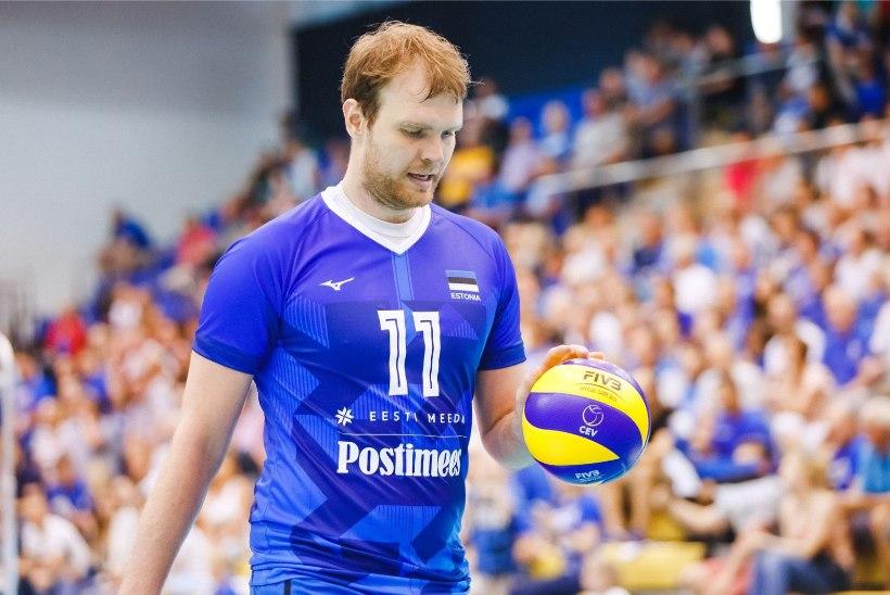Võrkpallikoondis alistas taas Soome