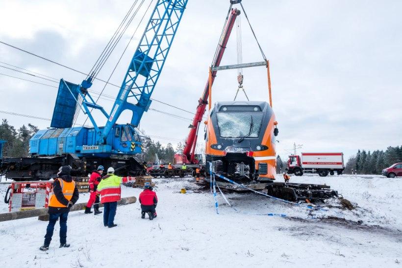 Raudteeõnnetused on viimase viie aasta jooksul põhjustanud 380 000 euro ulatuses kahju