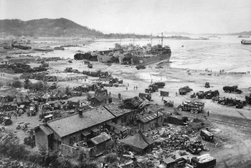 Hulljulge dessant päästis Lõuna-Korea