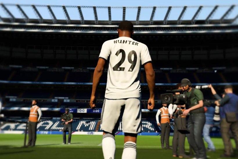 Real Madrid müüb fännidele videomängust pärit jalgpalluri särke