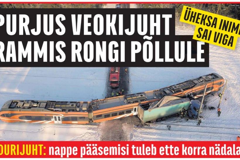 Kulnas viga saanud rongi remont läheb maksma üle kahe miljoni euro