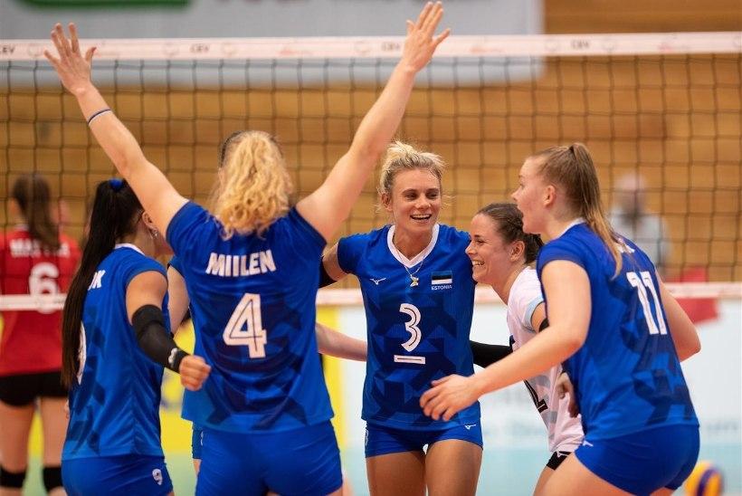 LÄHEB LAHTI! Eesti võrkpallikoondis alustab EM-valiksarja Soome vastu