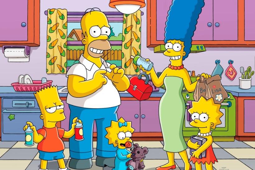 Tuntud veebipood toob turule Simpsonite kollektsiooni