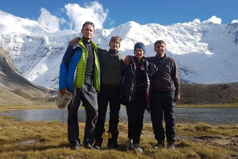 Surmalennust pääsenud Eesti alpinistid on tagasi maa peal