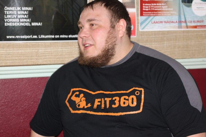 Eesti vägilane surus lamades üle 230 kilo ja tõusis EMil poodiumile