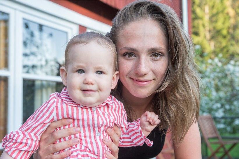 Tragi ema! Brigita Murutar läheb sügisel väikse lapse kõrvalt kooli