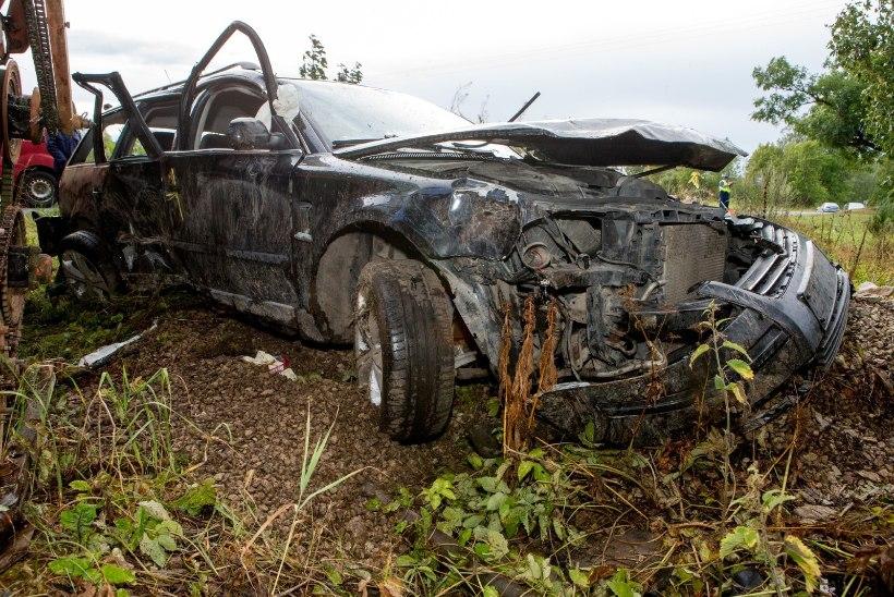 Из-за пьяного водителя в Рапламаа погибла женщина: четверо детей остались без матери...