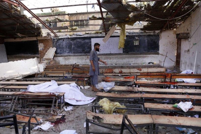 Terrorirünnakus Kabuli huvikoolile hukkus 48 inimest, suures osas teismelised lapsed