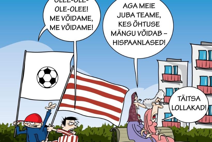 Juhtkiri | Kas superkarikas on Eesti ajaloo suurim spordisündmus?