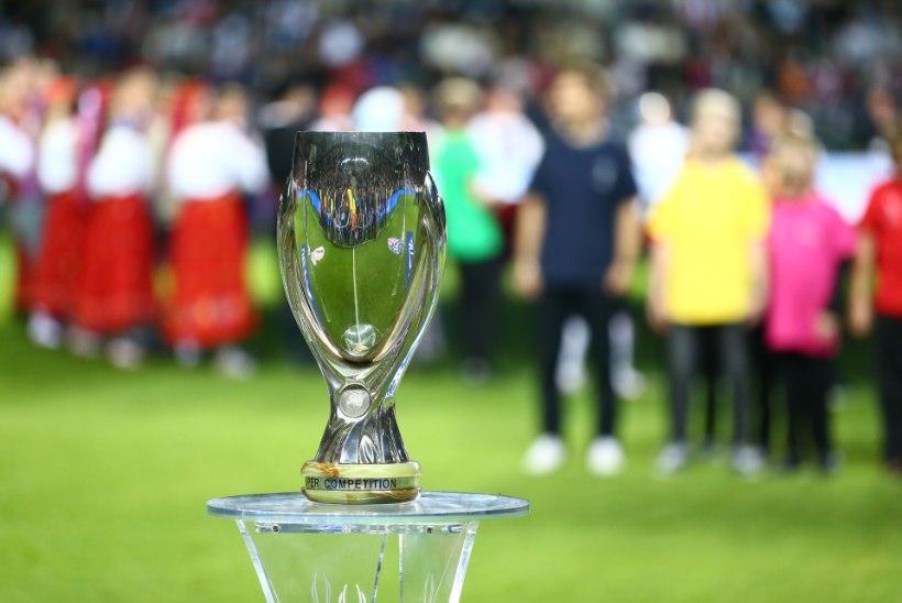 Jalgpalliliidu peasekretär superkarikast: UEFA tänas meid professionaalse töö eest
