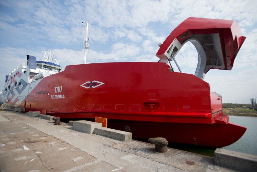 Segadus Hiiumaa laevadega jätkub: asenduslaeval tekkis tehniline tõrge