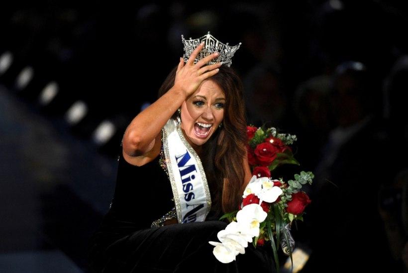 Uus Miss Ameerika süüdistab iludusvõistlust tema vaigistamises