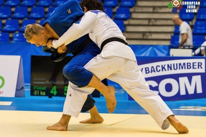 Judoka Kaljulaid jõudis MK-etapil poodiumile!