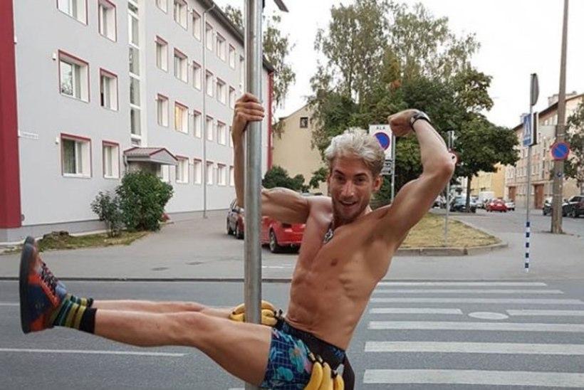 """VIDEO   Vaatamine omal vastutusel! Strippar Marco avaldas muusikavideo """"Banaani-banaani"""""""