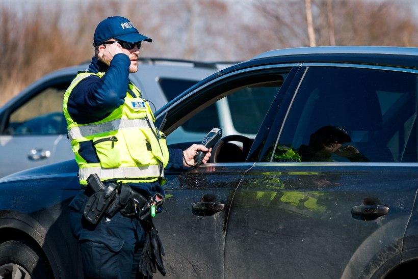 Möödunud ööpäeval tabas politsei üheksa joobes juhti