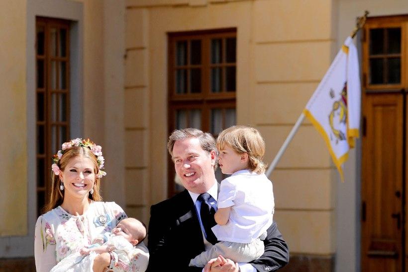 Printsess Madeleine kolib koos perega Floridasse