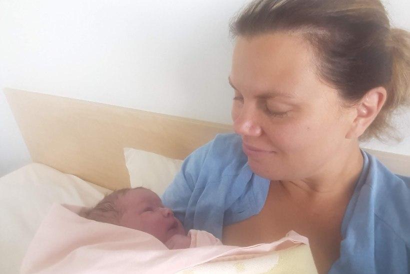 Õnne! Vabaerakondlane Heli Künnapas sai viienda lapse