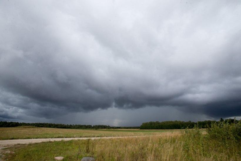 NÄDALA ILM: tuul ja vihm kimbutavad suviselt sooje päevi