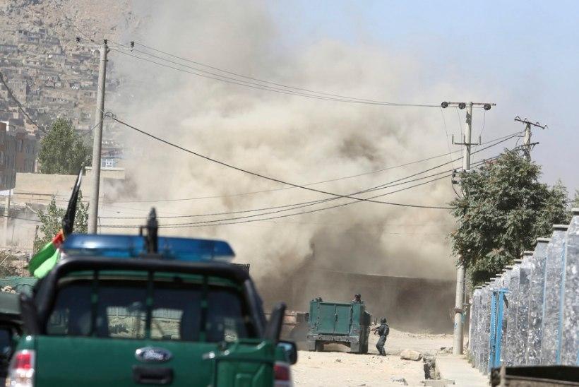 Afganistani presidendi kõne ajal pommitas ISIS presidendipaleed