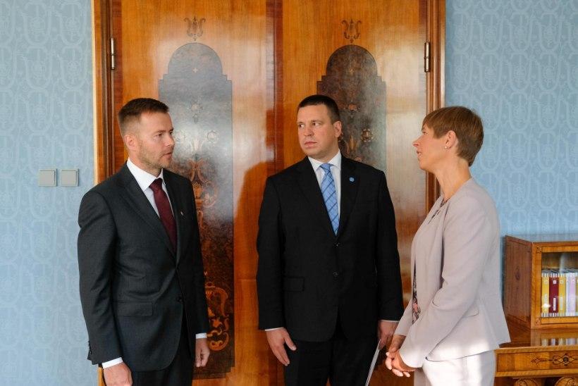 FOTOUUDIS | President nimetas ametisse uue ministri