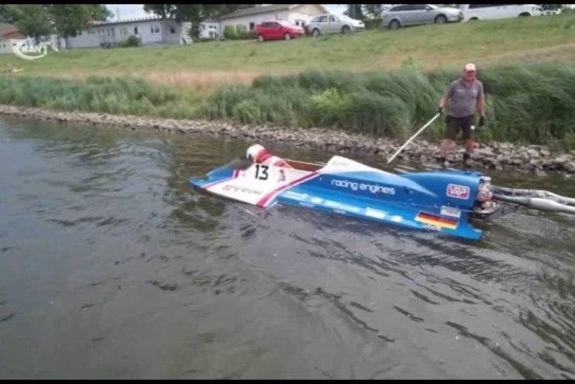 Harku järvel vigastada saanud motosportlane viidi tagasi kodumaale
