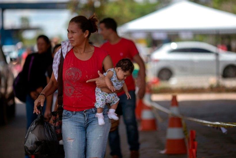 VÕIDUJOOKS AJAGA: Venezuela põgenikud kiirustavad, et enne laupäeva Peruusse jõuda