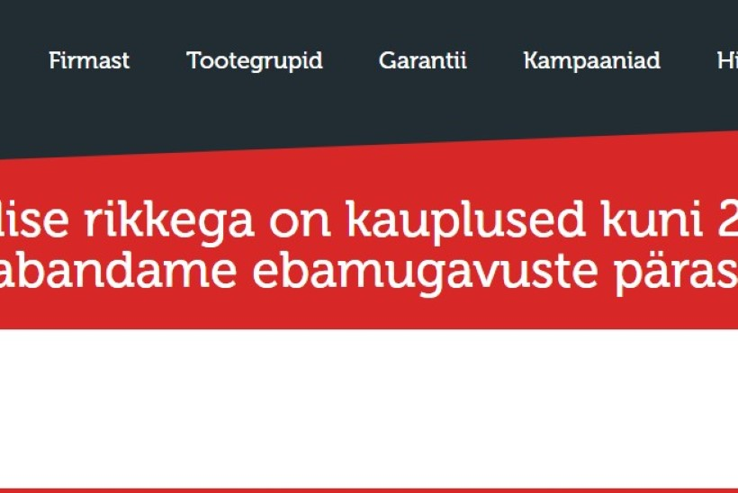 Kõik FEBi kauplused on suletud, põhjuseks ilmselt küberrünnak