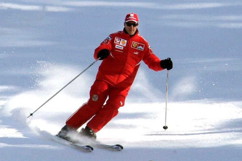 Kõnevõimetu Schumacher valab toast õue vaadates pisaraid