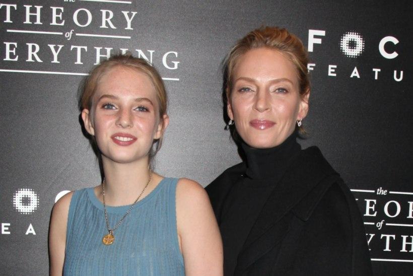 Tarantino võttis teda tümitanud Thurmani tütre oma uude filmi