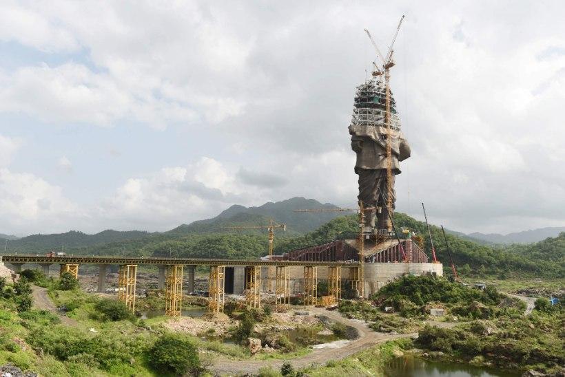 Maailma kõrgeima monumendi ehitus läheneb lõpule