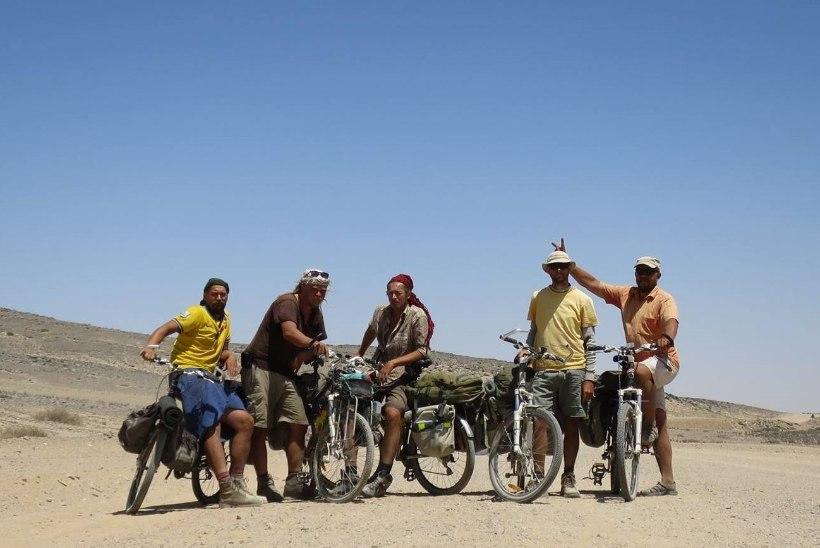 Uhhuuduurlased jõuavad tagasi kodumaale: selja taga raskeim rattaretk