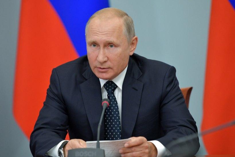 Putin teatas rahvale erakorralises pöördumises, et pensioniea tõusust pääsu pole