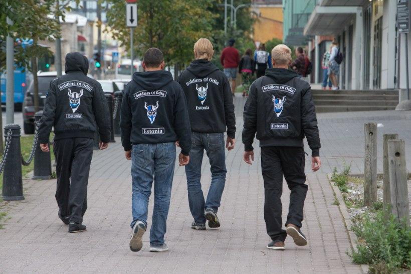 Odini sõdalased naasid Tallinna tänavaile