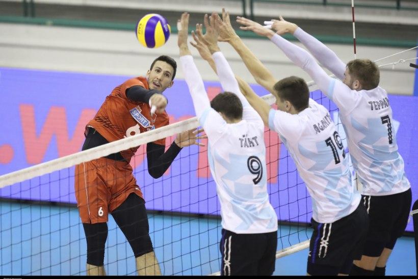 HÄSTI! Eesti võrkpallikoondis alistas teist päeva järjest Slovakkia