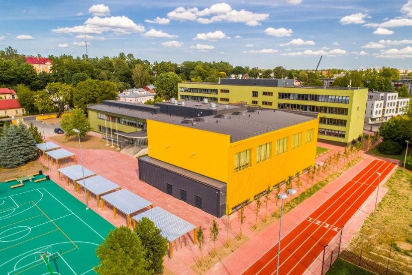 Raatuse koolil on Eesti moodsaima õpikeskkonnaga hoone