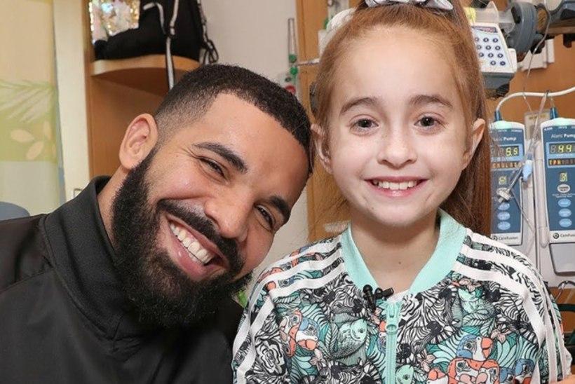 11aastane Drake'i fänn sai pärast superstaari visiiti uue südame