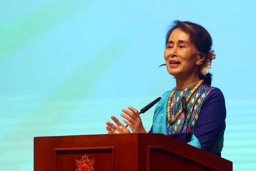 ÜRO inimõigusjuht: ametist peaks lahkuma ka Myanmari liider Aung San Suu Kyi