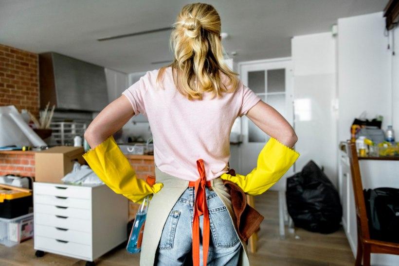 Õigesti koristatud kontoris haigestuvad töötajad harvem