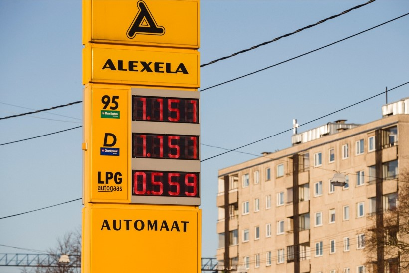 Kütusemüüja: jõnksutav kütusehind räägib pinevast konkurentsist