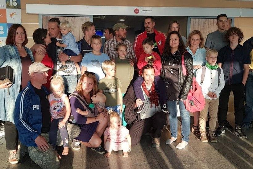 Tagasi kodumaal: Uhhuduuri seltskond jõudis Tallinnasse!