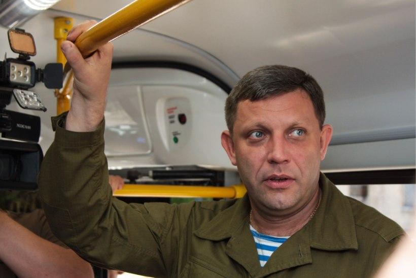 Donetski separatistide juht hukkus plahvatuses