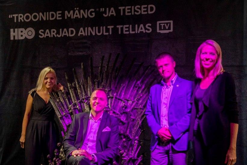 PILDID | Maailmakuulus seriaalitootja HBO maabus Eestisse uhke peoga