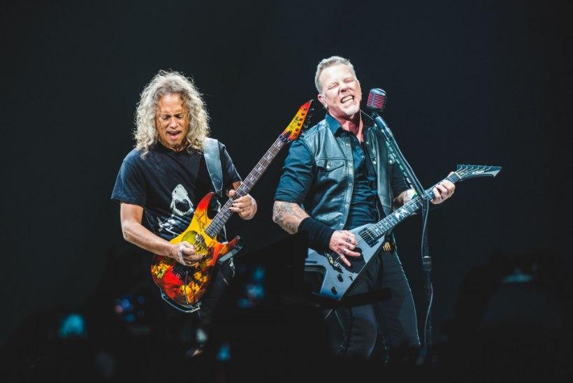FÄNNINÄNN: Metallica andis välja oma viski ja käekella