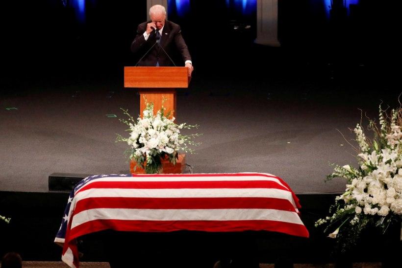 """""""See ei pea nii s**t üritus olema"""": McCain palus matustele kõnelema oma suurimad rivaalid"""
