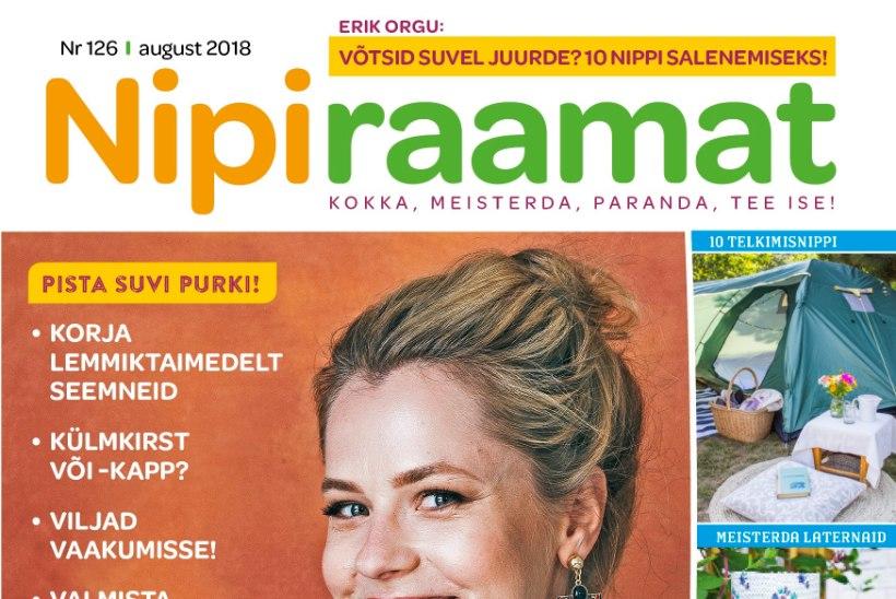 Augusti Nipiraamat on ilmunud!