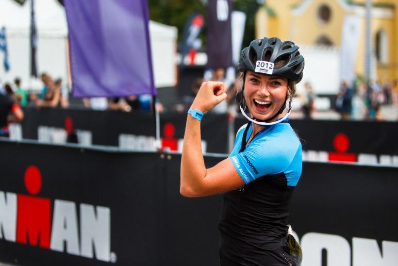 Tallinna Ironmanil elu pikima rattasõidu teinud Saskia Alusalu: hea aeg üllatas mind!